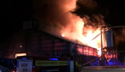PelletsFörbundets webbinarium om brand och risk